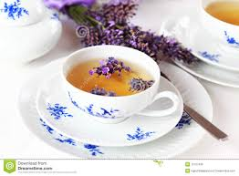 lavender tea lavender tea royalty free stock images image 15127429