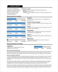liquidity report template 32 report formats free premium templates