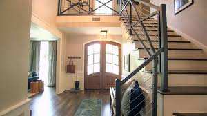 Iron Grill Design For Stairs Striking Entry And Staircase Video Hgtv