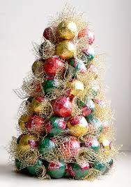 candy christmas tree festive christmas tree decorating ideas 2014
