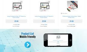 professional ebay shop template store design theme responsive