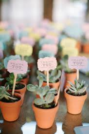 plant wedding favors 12 ultimate great ideas for lovely plant wedding favors wedding
