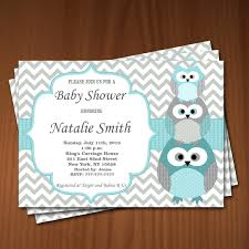 Baby Shower Invite Boy Owl Baby Shower Invitation Boy Baby Shower Invitations
