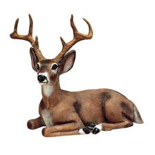 buck deer outdoor statues garden animal resin durable realistic