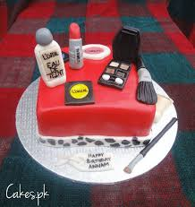 themed l l oreal themed makeup cake cakes pk