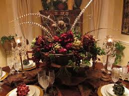 Gold Christmas Centerpieces - lovely christmas dining room table centerpieces and dining table