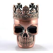 metal skeleton ring holder images 1 x novelty noble copper tone king skeleton skull jpg