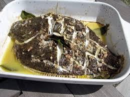 turbot roti au laurier et aux échalotes cuisine de la mer