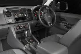 volkswagen pickup interior volkswagen amarok shows its off road capabilities