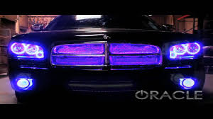 halo lights for 2013 dodge charger dodge charger colorshift oracle halo kit and v2 scanner by