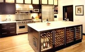 kitchen island with refrigerator kitchen island built wine cooler snaphaven