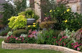 flower bed ideas best flower garden design plans 1000 ideas about