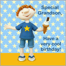 grandson very cool birthday card karenza paperie