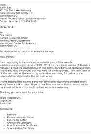 bunch ideas of free cover letter sample for job application for