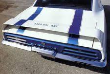 1969 camaro rear spoiler vintage car truck spoilers wings ebay