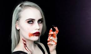vampire makeup tutorial halloween youtube