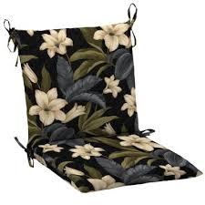 Hampton Bay Patio Chair Cushions by Hampton Bay Black Tropical Blossom Outdoor Dining Chair Cushion