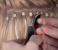 glue in extensions how to put glue in hair extension bangs