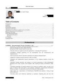 sample cv form pdf example good template