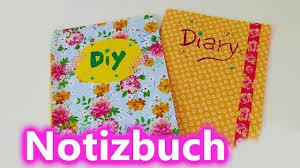 tagebuch selbst designen diy notizbuch tagebuch adressbuch selber machen und gestalten
