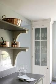 Cool Shelving Bespoke Kitchen With Modern Luxury And Edwardian Charm