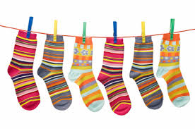 silly socks clipart 33