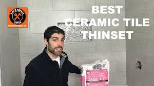 thinset for bathroom ceramic tile floors u0026 walls get the scoop