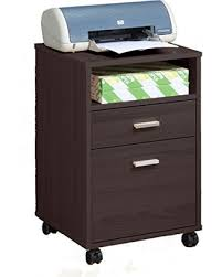 printer and file cabinet deal alert sintechno s id11491 mobile printer stand with storage