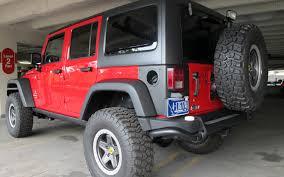 aev jeep rear bumper in our garage aev u0027s jeep wrangler packs a 6 4 liter hemi