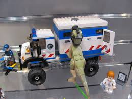 jurassic park car lego toy fair 2015 u2014jurassic world games toys and lego purple pawn