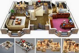 modern home floor plans 20 stylish modern home 3d floor plans archishere