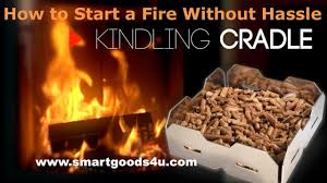 how to start a fire in a fireplace without hassle using pellets