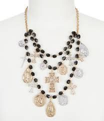 bib necklace metal images Women 39 s statement necklaces dillards jpg