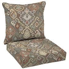 Hampton Bay Patio Chair Cushions by Hampton Bay Southwestern Saddle Deep Seating Outdoor Lounge Chair