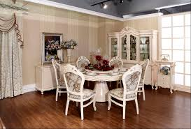 Round Table Set  Inch Round Dining Table Set Idea Vanessa - White round dining room table sets