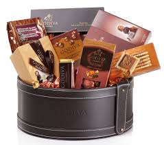 chocolate basket delivery sweden gift baskets godiva luxurious deliver christmas