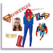 Superwoman Halloween Costumes Diy Superwoman Halloween Costume Polyvore