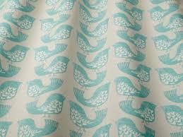iliv scandi birds aqua fabric iliv fabric