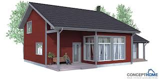 small cottage plan small house plan ch92 with affordable building price and modest