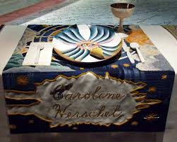 judy chicago dinner table ipernity setting for caroline herschel in the dinner party by judy