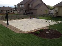 reasons to install a backyard basketball court synlawn image on