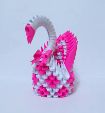 3d origami patterns 3d origami swan tutorial http
