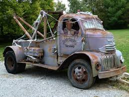 Old Ford Truck Engines - 40 u0027s vintage chevrolet cab over engine coe tow truck flickr