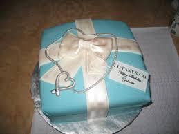 tiffany u0027s gift box cakke custom cakes virginia beach