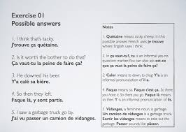 say it in french translate 125 sentences to conversational