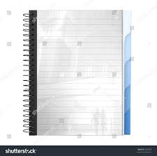 write paper 3d a4 spiral writing pad writing stock illustration 5056084 3d a4 spiral writing pad writing pad paper write book
