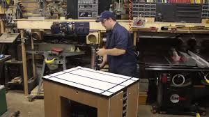 ultimate shop cart w rockler t track table stumpy nubs youtube
