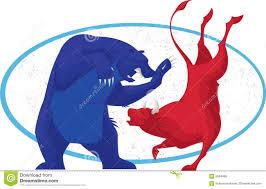 stock market hours thanksgiving bull and bear stock market stock illustration image 65921680