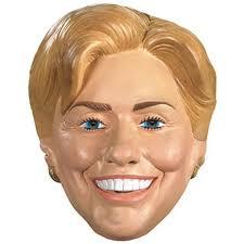 amazon com hillary rodham clinton costume mask clothing
