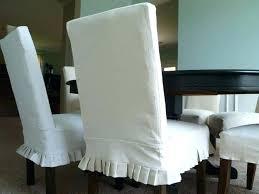 white slipcover dining chair white slipcovered dining chairs dining room chairs covers sale white